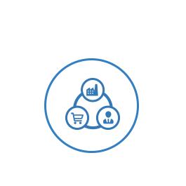 全业务共享,从生产到销售机构到业务员